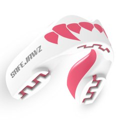 Капа Safejawz Extro Series Self-Fit Pink Fangz